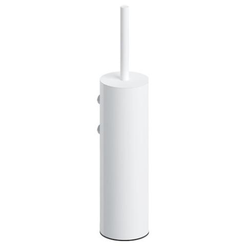 Clou Sjokker toiletborstelgarnituur wand mat wit