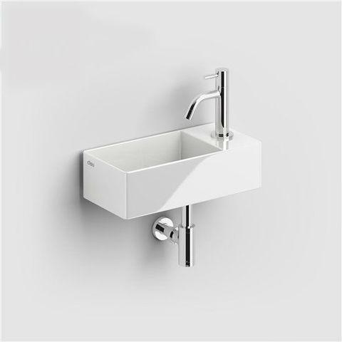 Clou New Flush 3 - 35 cm fontein met afvoerplaat aluite
