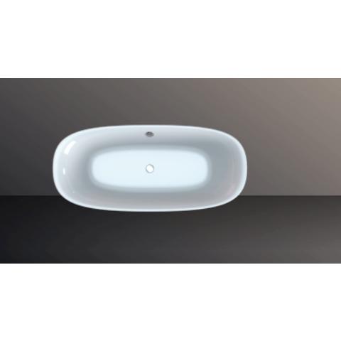 Xenz Daan vrijstaand ligbad 180 x 80 cm glans wit