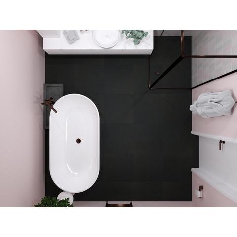 Blinq Collostone tegel 60x60 - Zwart