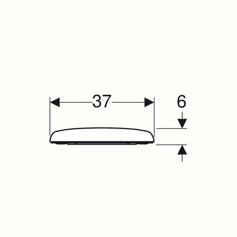 Geberit Renova closetzitting met deksel topfix softclose wit