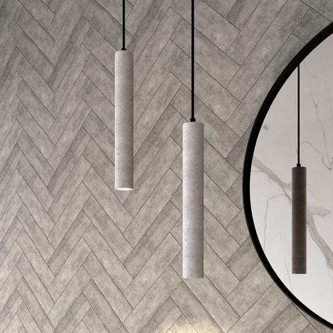 Bewonen Concrete badkamer hanglamp LED beton