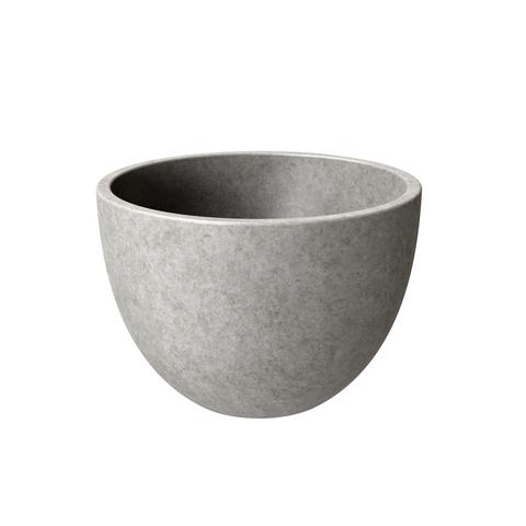 Ideavit Concrete opzetwastafel klein rond 22,5cm - licht beton