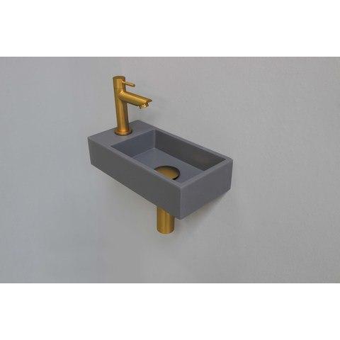 Ink Versus fonteinpack - links - quartz grijs - toebehoren brushed mat goud