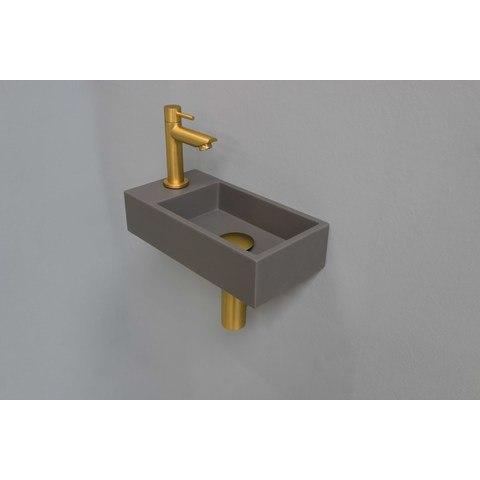 Ink Versus fonteinpack - links - quartz beton - toebehoren brushed mat goud