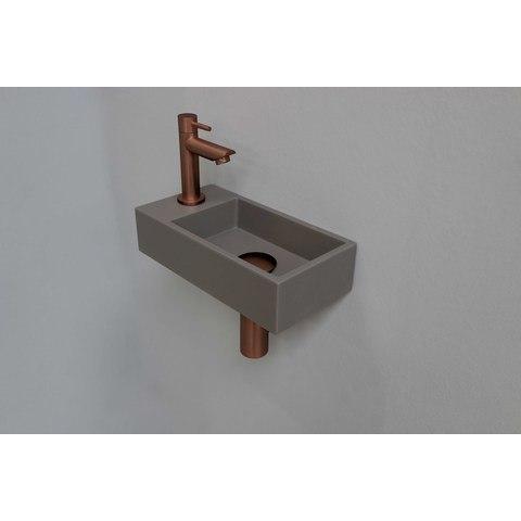Ink Versus fonteinpack - links - quartz beton - toebehoren mat rosé goud