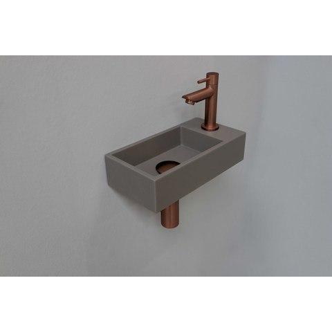 Ink Versus fonteinpack - rechts - quartz beton - toebehoren mat rosé goud