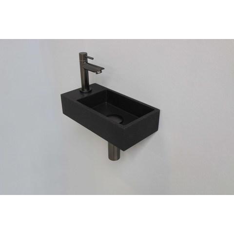 Ink Versus fonteinpack - links - quartz zwart - toebehoren gun metal