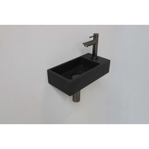 Ink Versus fonteinpack - rechts - quartz zwart - toebehoren gun metal