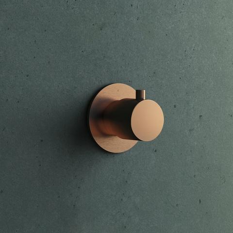 Hotbath Cobber CB010EXTAB afbouwdeel verouderd messing