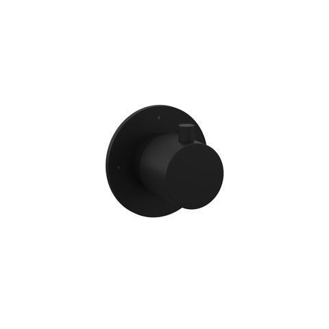 Hotbath Cobber CB010EXTBL afbouwdeel mat zwart
