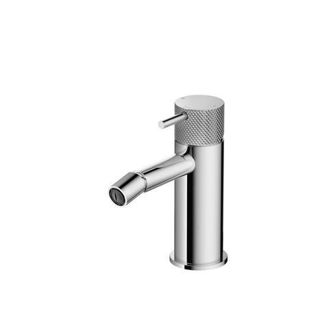 Hotbath Cobber X CX018 bidetkraan zonder waste geborsteld nikkel