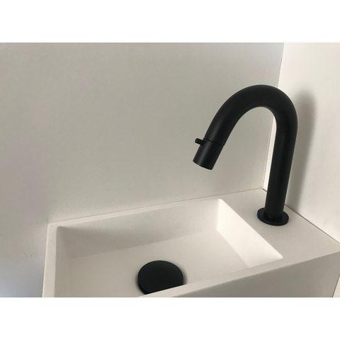 Hotbath Cobber U001 fonteinkraan mat-zwart