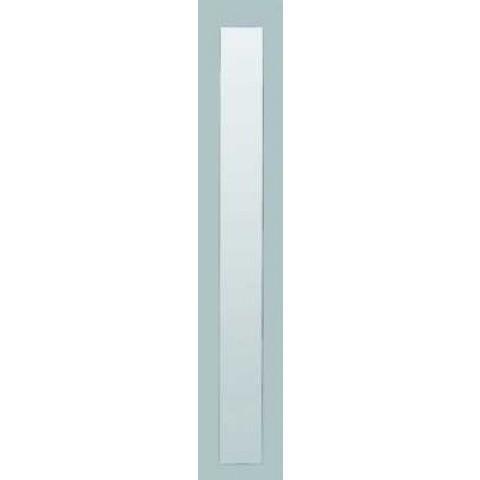 Basic Line fonteinspiegel op alu kader - 90x20cm (hxb)