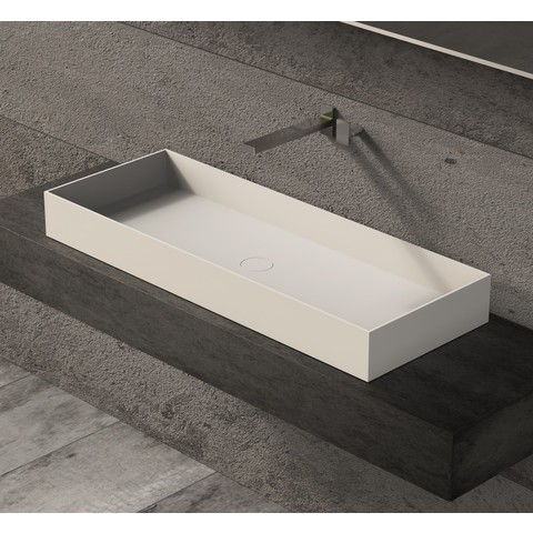 Ideavit Solidjoy-100 opzetwastafel 100x37,5cm mat wit