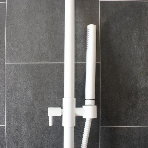 Bongio Shower doucheset mat-wit