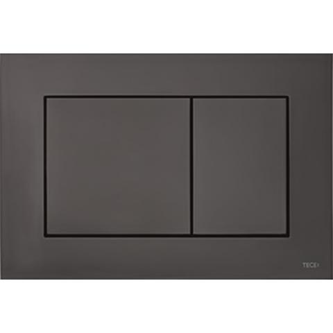 Villeroy & Boch Subway 2.0 toiletset CeramicPlus met Tece reservoir/bedieningsplaat glans-zwart
