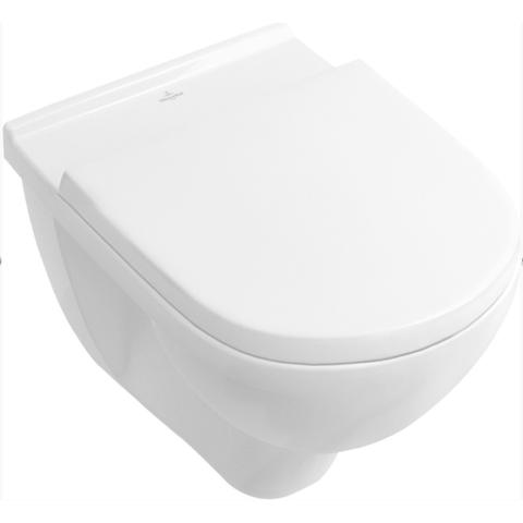 Villeroy & Boch O.novo toiletset met Geberit UP320 reservoir/bedieningsplaat mat-chroom