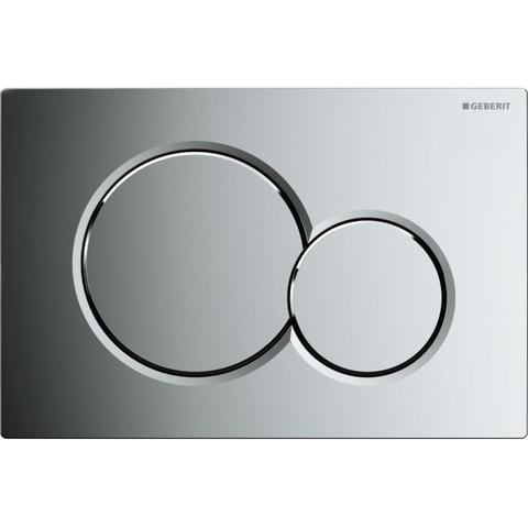 Villeroy & Boch O.novo toiletset CeramicPlus met Geberit UP320 reservoir/bedieningsplaat glans-chroom