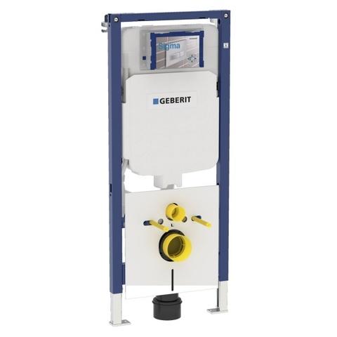 Villeroy & Boch O.novo toiletset Compact CeramicPlus met Geberit ruimtewinnend reservoir/bedieningsplaat mat-chroom