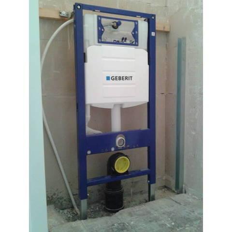 Villeroy & Boch Avento toiletset DirectFlush CeramicPlus met Geberit UP320 reservoir/bedieningsplaat glans-chroom