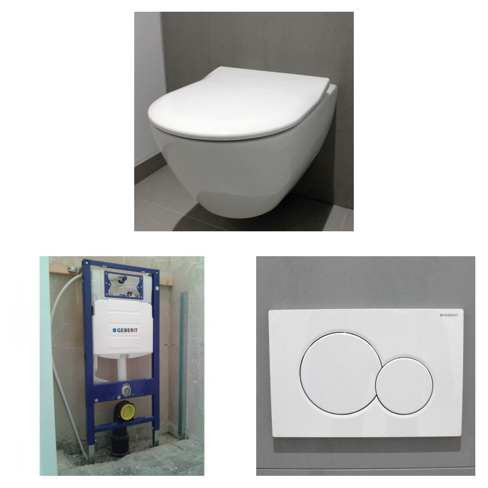 Villeroy & Boch Subway 2.0 toiletset DirectFlush met Geberit UP320 reservoir/bedieningsplaat glans-wit