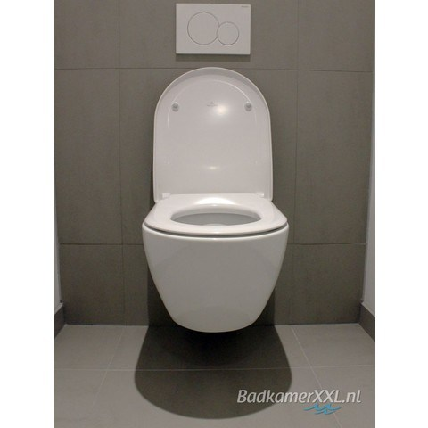 828a6920090 Villeroy & Boch Subway 2.0 toiletset DirectFlush CeramicPlus met Geberit  UP320 reservoir/bedieningsplaat glans-wit