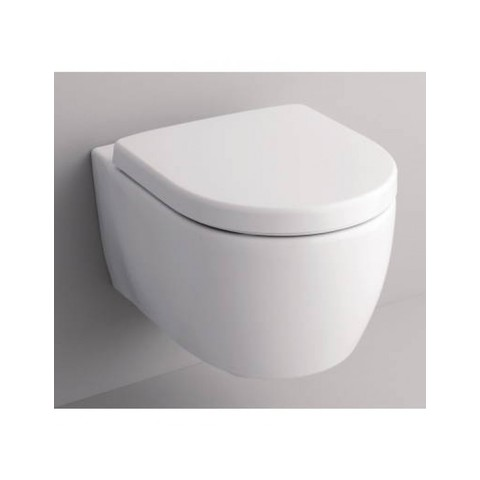 Geberit Icon toiletset met Geberit UP320 reservoir/bedieningsplaat glans-chroom