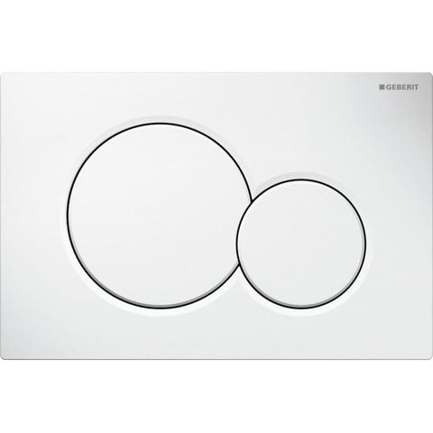 Geberit 300 Basic toiletset Rimfree met UP320 reservoir/bedieningsplaat glans-wit