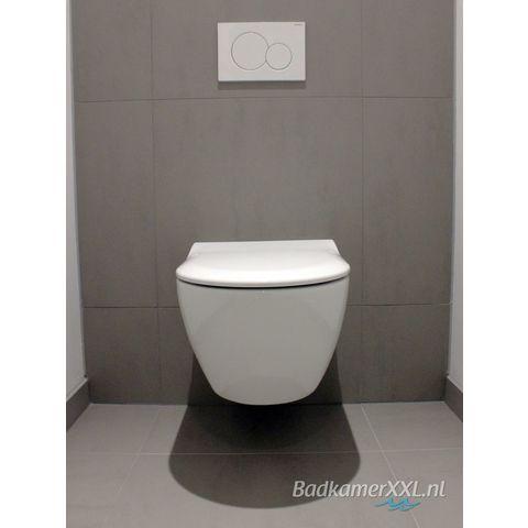 Geberit Xeno2 toiletset Rimfree met UP320 reservoir/bedieningsplaat glans-wit