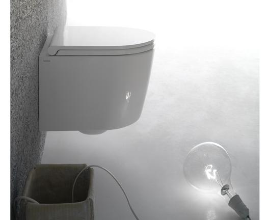 Wand Wc 43 Cm Ausladung : globo forty3 hangtoilet verkort 43cm met softclosing ~ Watch28wear.com Haus und Dekorationen