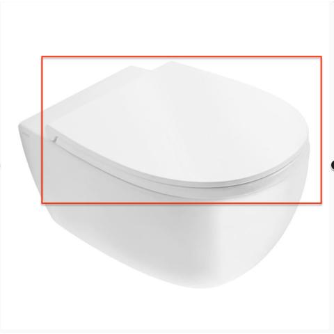 Globo 4ALL toiletzitting met Softclose mat wit