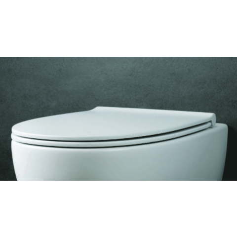 Globo 4ALL toiletzitting met Softclose mat wit