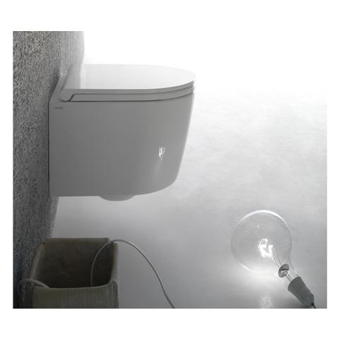 Globo Forty3 toiletset Compact 43cm met Tece reservoir/bedieningsplaat glans-chroom
