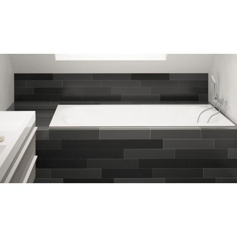 Riho Linares bad acryl 190x90cm Velvet White (mat wit)