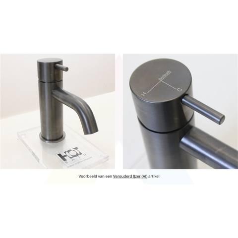 Hotbath Cobber CB003MS wastafelkraan verouderd ijzer