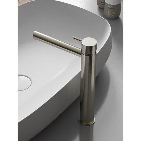 Hotbath Cobber CB003HS wastafelkraan hoog mat wit