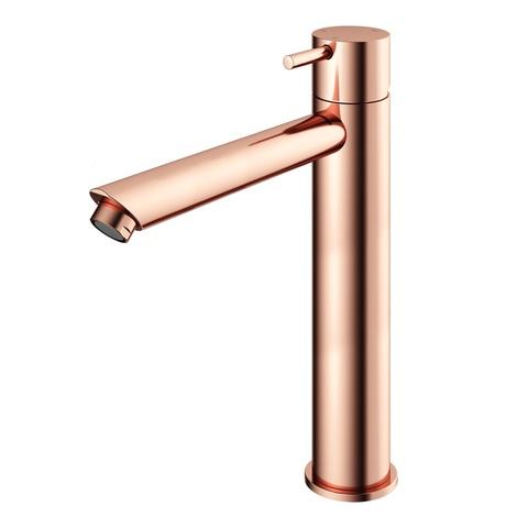 Hotbath Cobber CB003HS wastafelkraan hoog roze goud