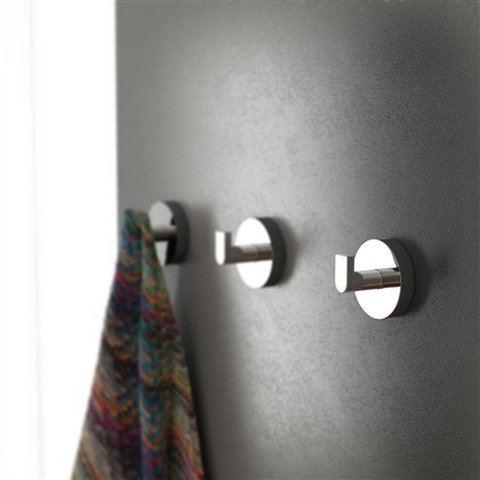 Clou Flat toilet accessoires set mat-wit
