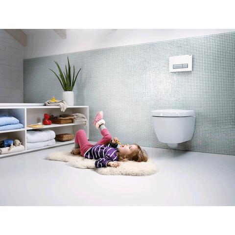 Sphinx Acanto toiletset Rimfree met Geberit DuoFresh - wit (kunststof) bedieningsplaat