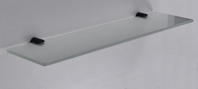 Wiesbaden Ida planchet glas met mat-zwarte bevestiging