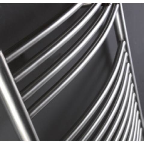 Instamat Inox Straight badkamerradiator 181 x 60,5 cm (H x L) gepolijst rvs