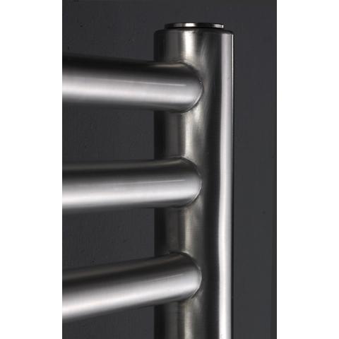 Instamat Inox Straight badkamerradiator 73 x 60,5 cm (H x L) gepolijst rvs