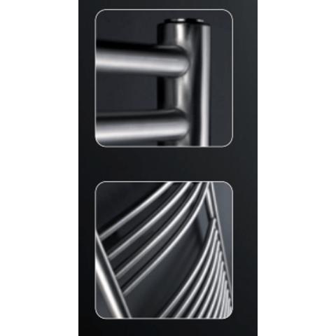Instamat Inox Straight badkamerradiator 181 x 50,5 cm (H x L) geborsteld rvs