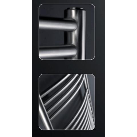 Instamat Inox Straight badkamerradiator 181 x 50,5 cm (H x L) gepolijst rvs