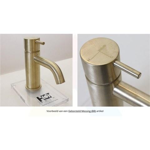 Hotbath Cobber CBA11 WC-borstelgarnituur wandmodel geborsteld koper