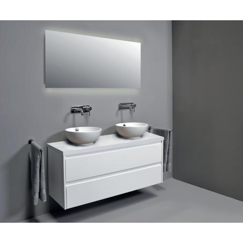 Basic Line Ultimate spiegel 100x60cm met indirecte LED verlichting boven & onder