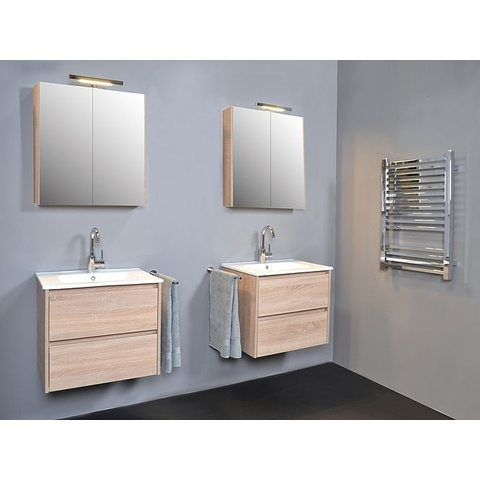 Blinq Ace spiegelkast comfort 120cm - hoogglans wit