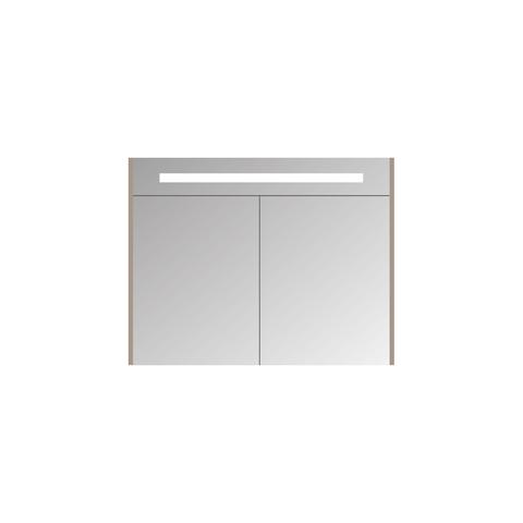 Blinq Ace spiegelkast Premium 100cm - hoogglans wit