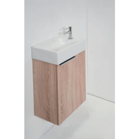 Proline fontein onderkast 1 deur met greep (universeel) - Eiken 385x225mm (bxd)